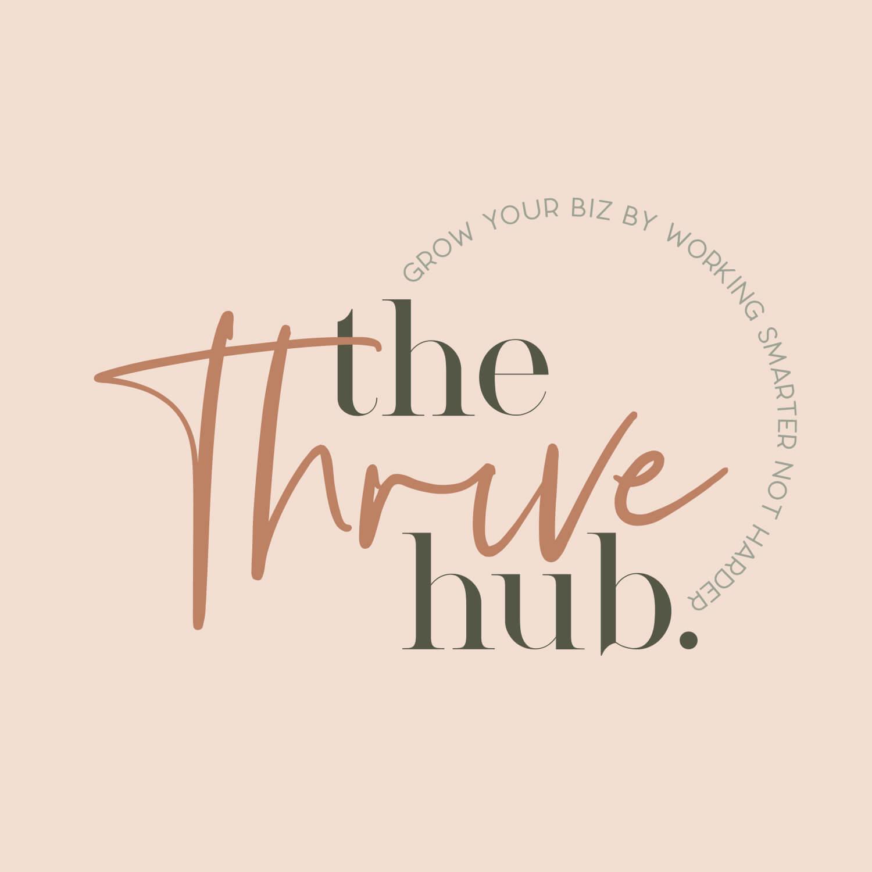 The Thrive Hub Branding