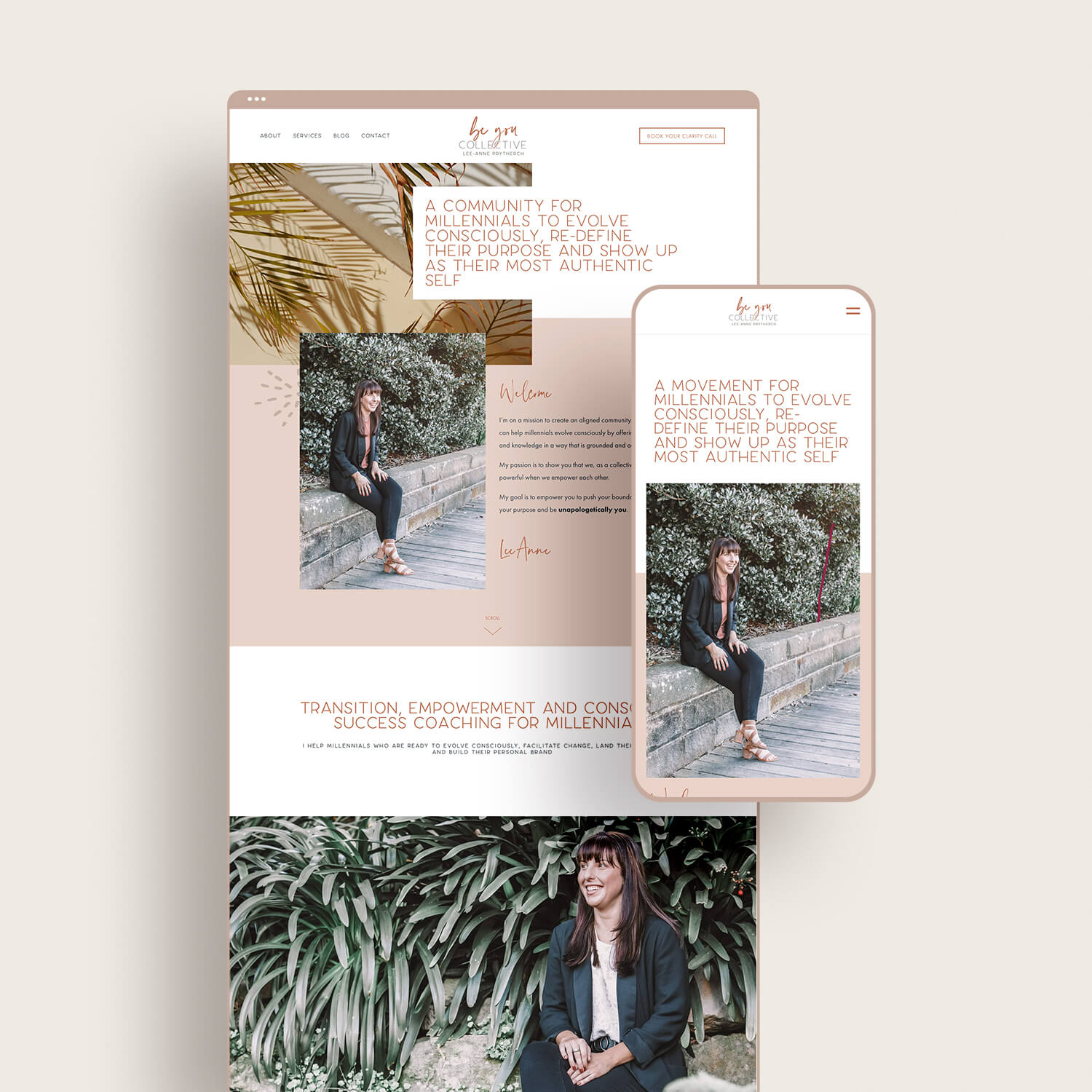Be You Collective Website Design
