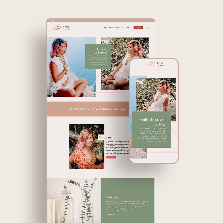 Wellness Witches Website Design