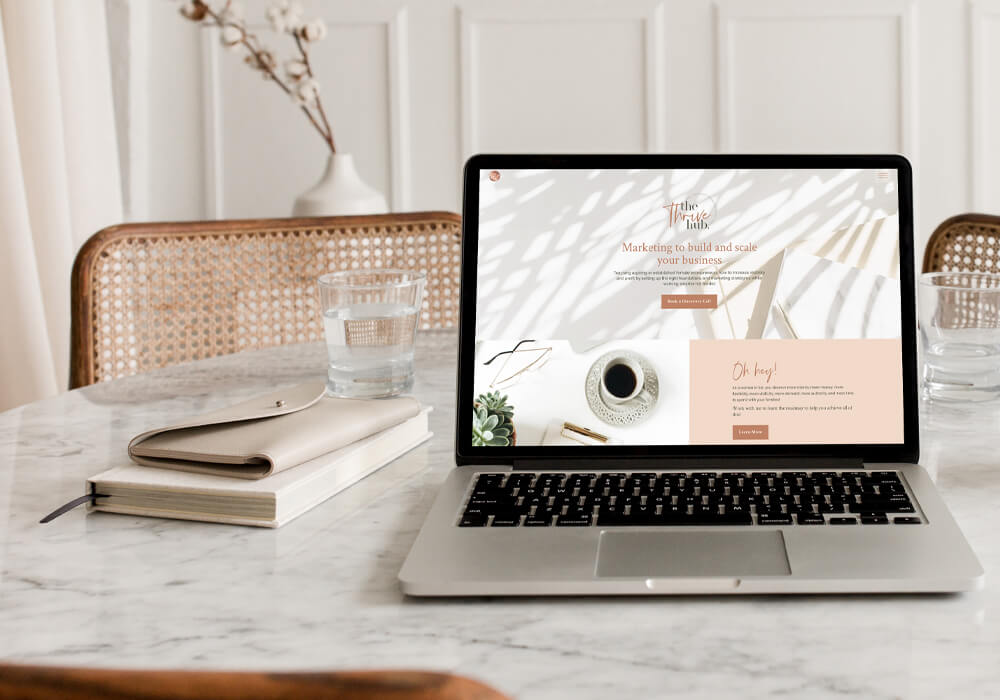 creative resauce website design